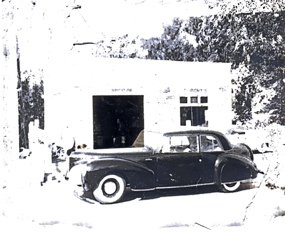 Dupont's Service Center in the 1950's in Gonic New Hampshire