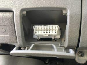 OBD connector for auto diagnostics
