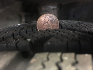 Lincoln test for tires