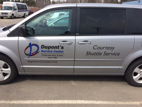 Dupont's Concierge and shuttle service