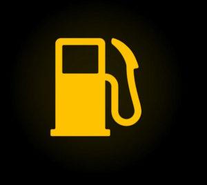 Gas Light gauge indicator light
