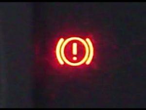 Brake Warning Indicator Gauge